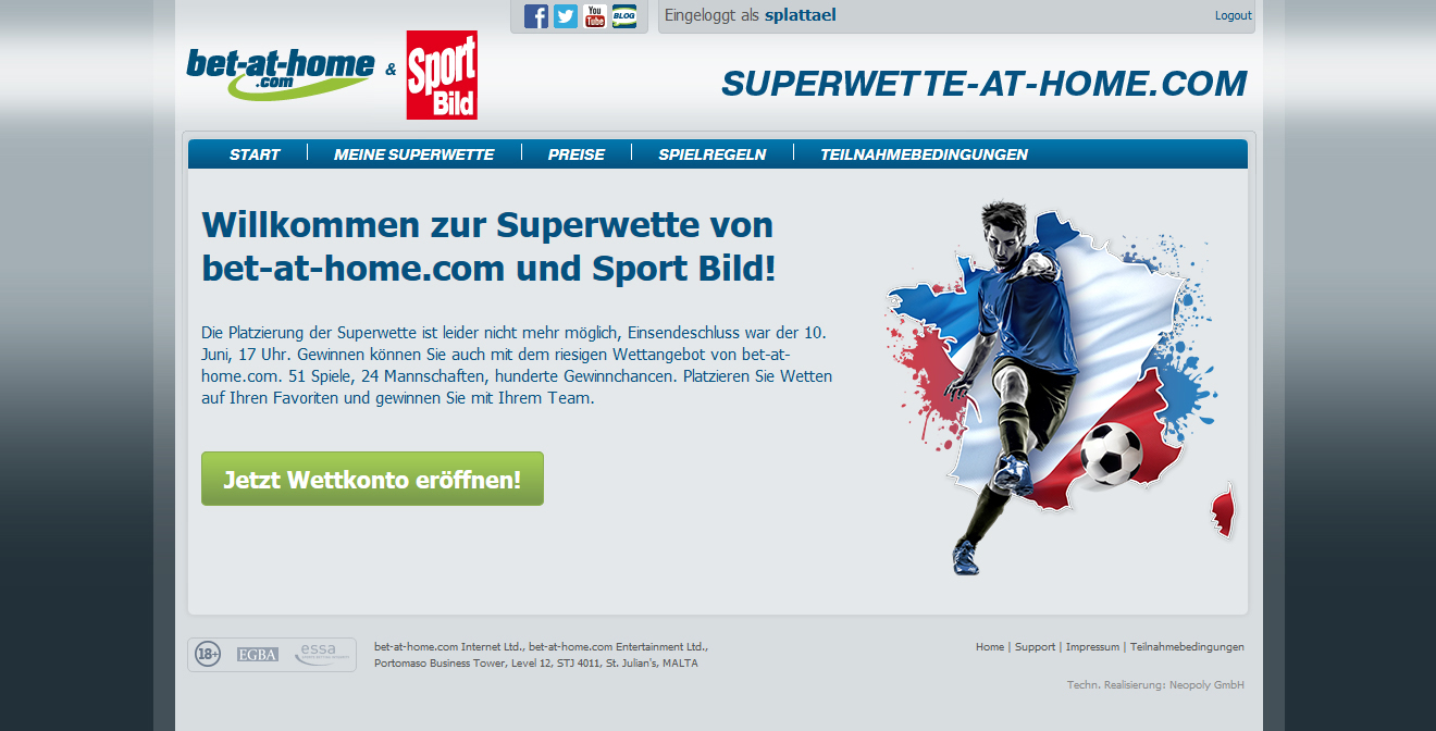 bet at home superwette