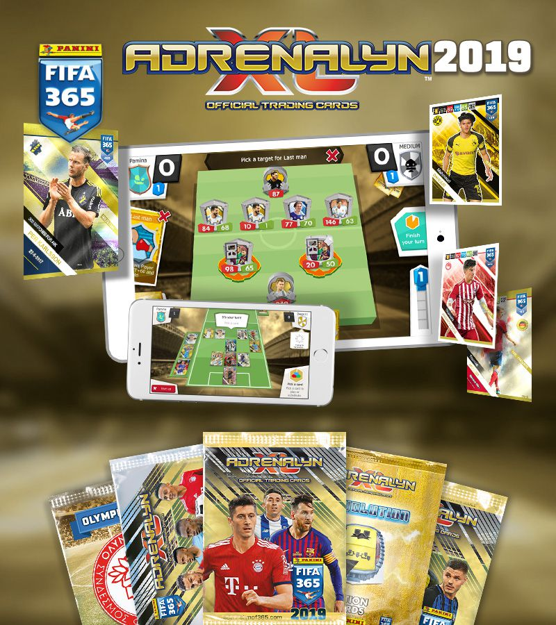 Panini FIFA 365 Adrenalyn XL™ 2018 Mobile Edition
