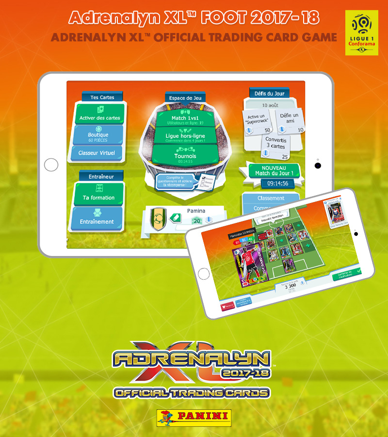 Panini Adrenalyn XL™ Ligue 1 2017 Mobile Version