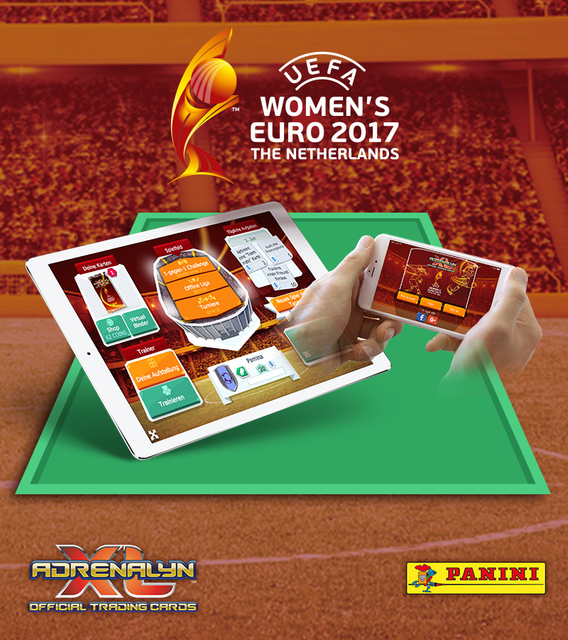 Mobile UEFA Women's EURO Panini Adrenalyn XL™ game