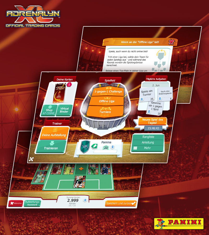 UEFA Women's EURO Panini Adrenalyn XL™