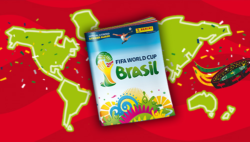 Stickeralbum World Cup Brasilien