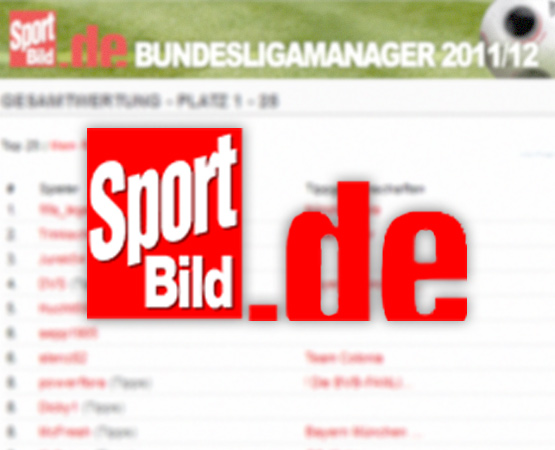 neopoly sport bild bundesliga tippspiel 2011 2012. Black Bedroom Furniture Sets. Home Design Ideas